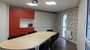 """Bureaux """"Tisserent"""" Loudéac . Salle de réunion"""