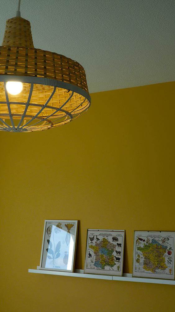 Chambre jaune: réduction d